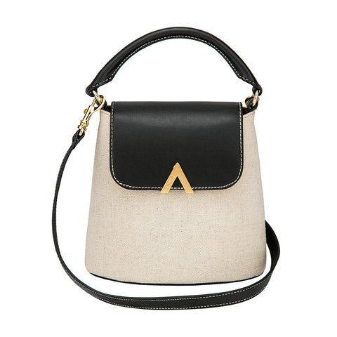 Park Shoulder Bag - Canvas/Black