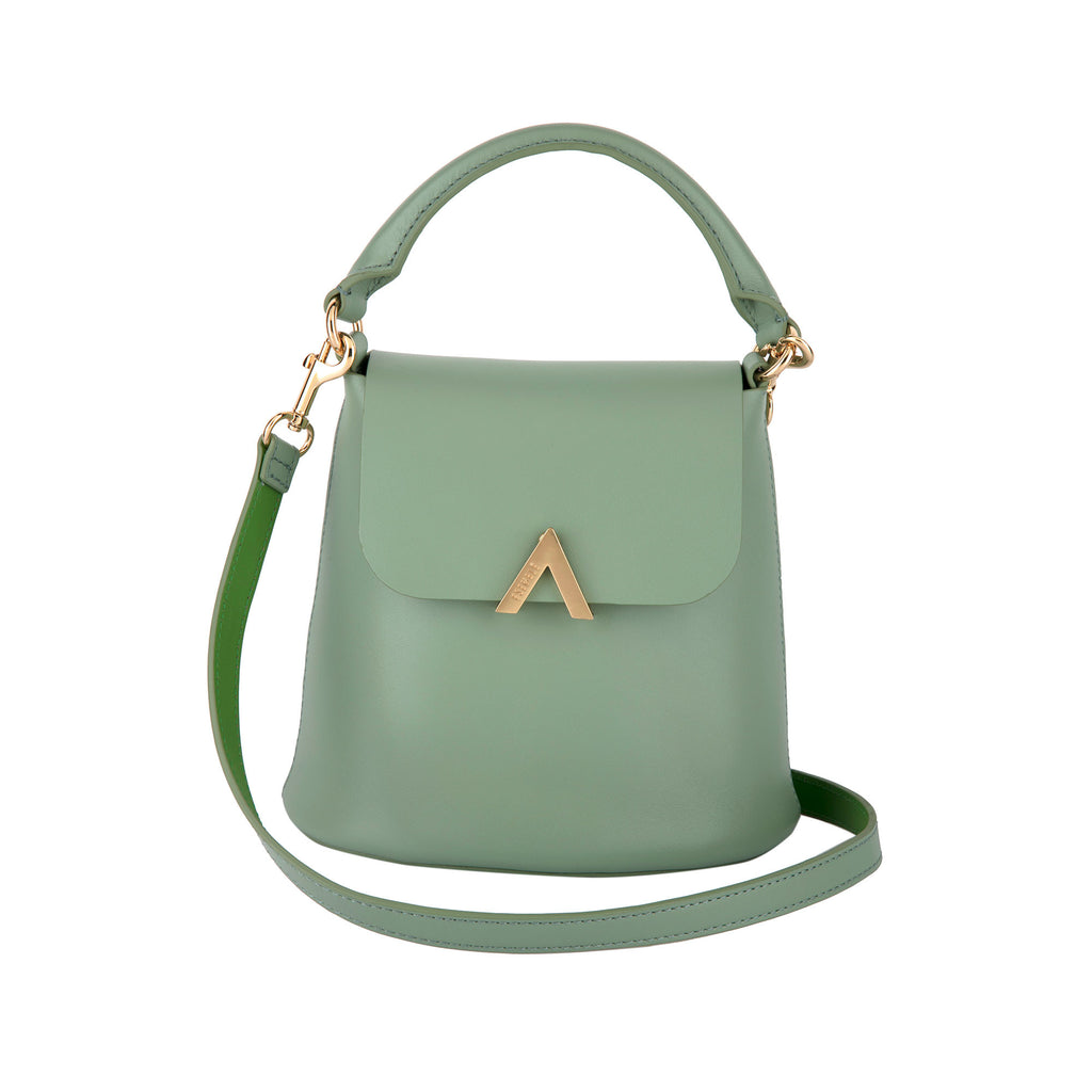Bell Shoulder Bag - Seafoam - ESEMBLĒ - 1