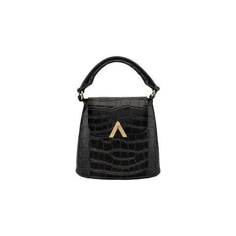 Mini Bell Shoulder Bag - Black