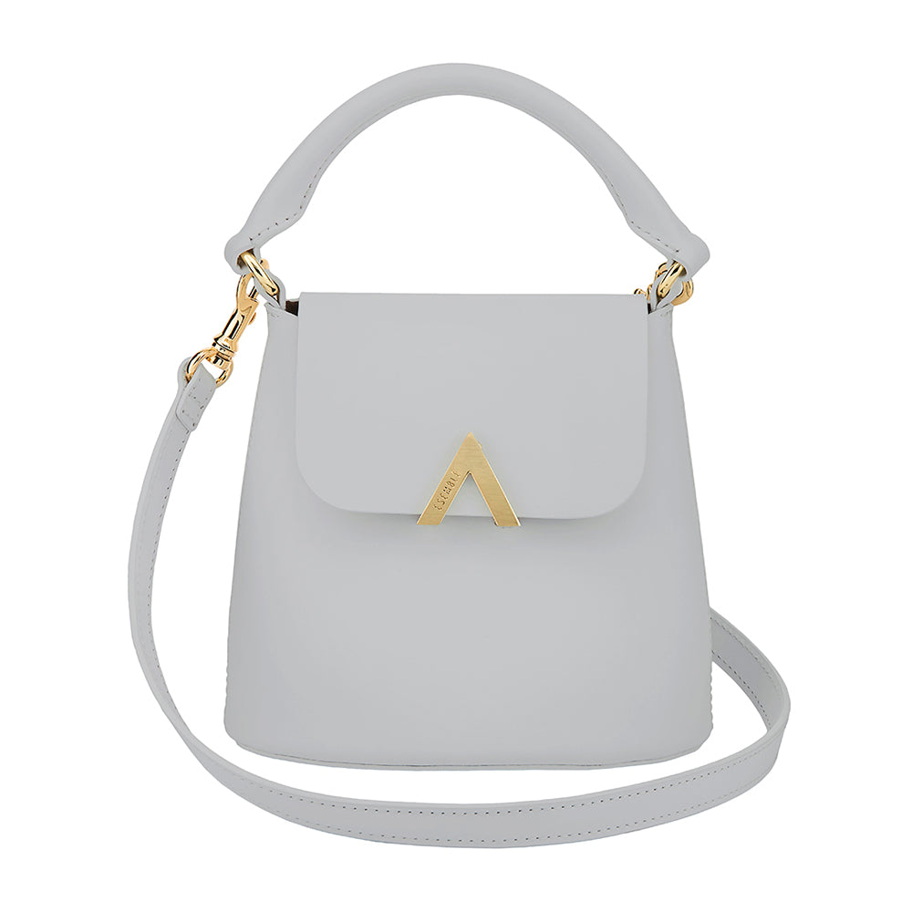Bell Shoulder Bag - Stone