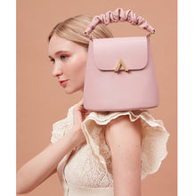 Load image into Gallery viewer, Scrunchy Handle Bell Shoulder Bag - Peony