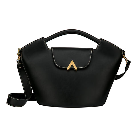 Bell Shoulder Bag - Canvas/Black