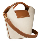 Deli Basket Carryall - Canvas/Brown