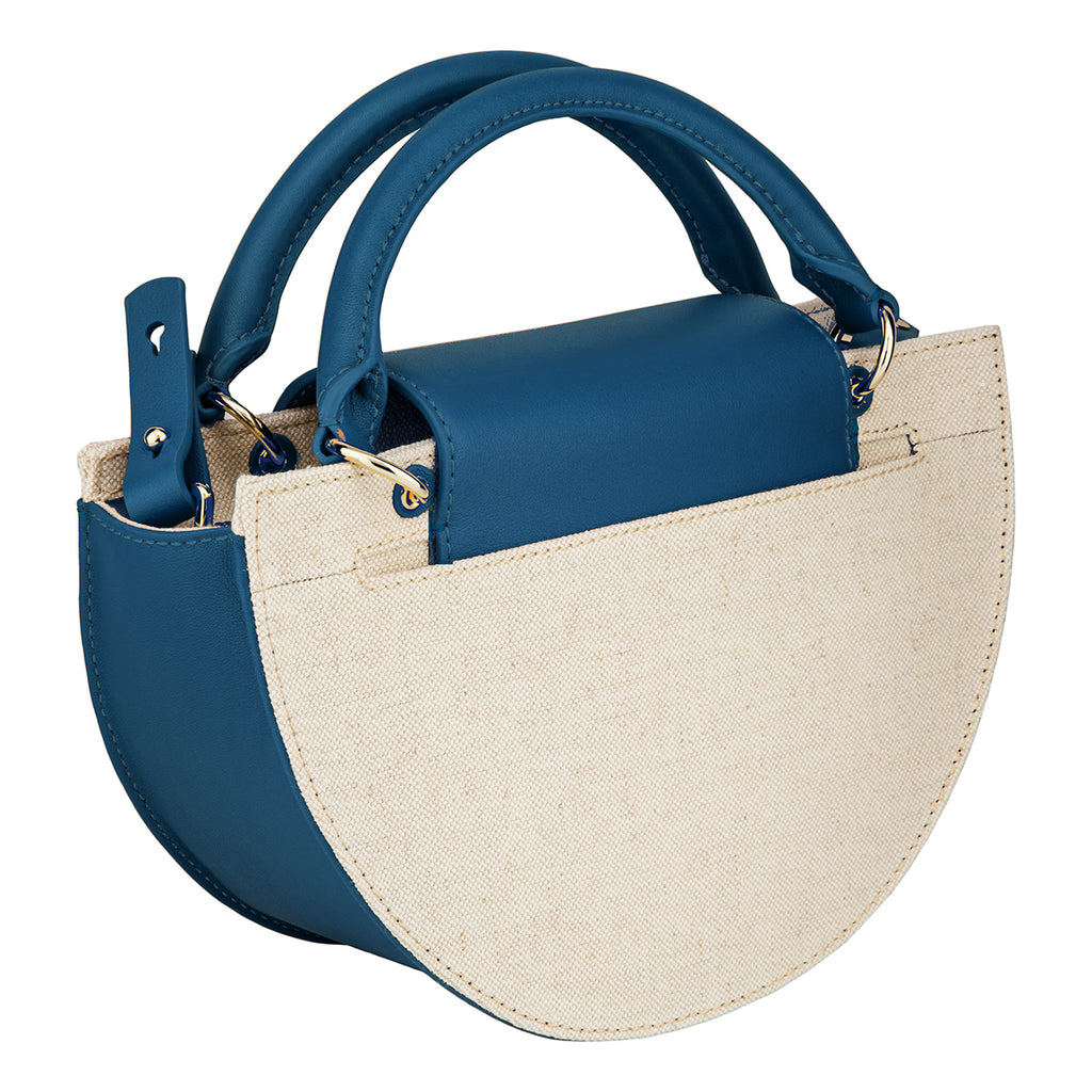 Demi Moon Bag - Canvas/Reef