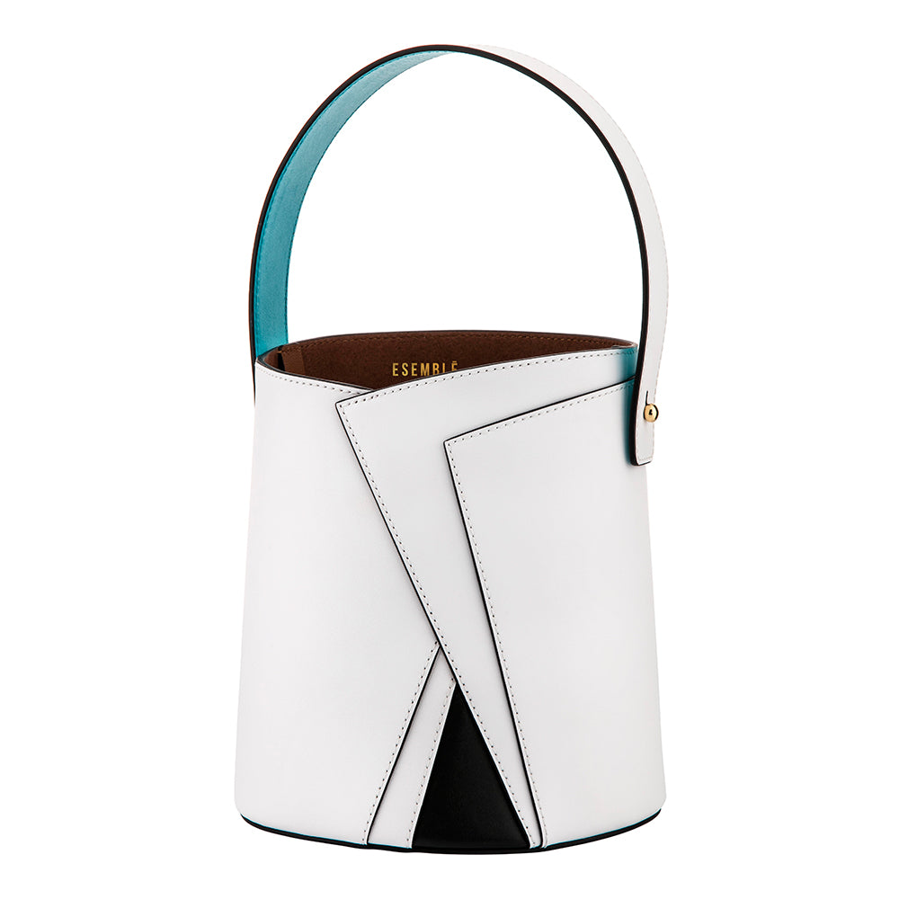 Serra Bucket Bag - Blanc/Multi