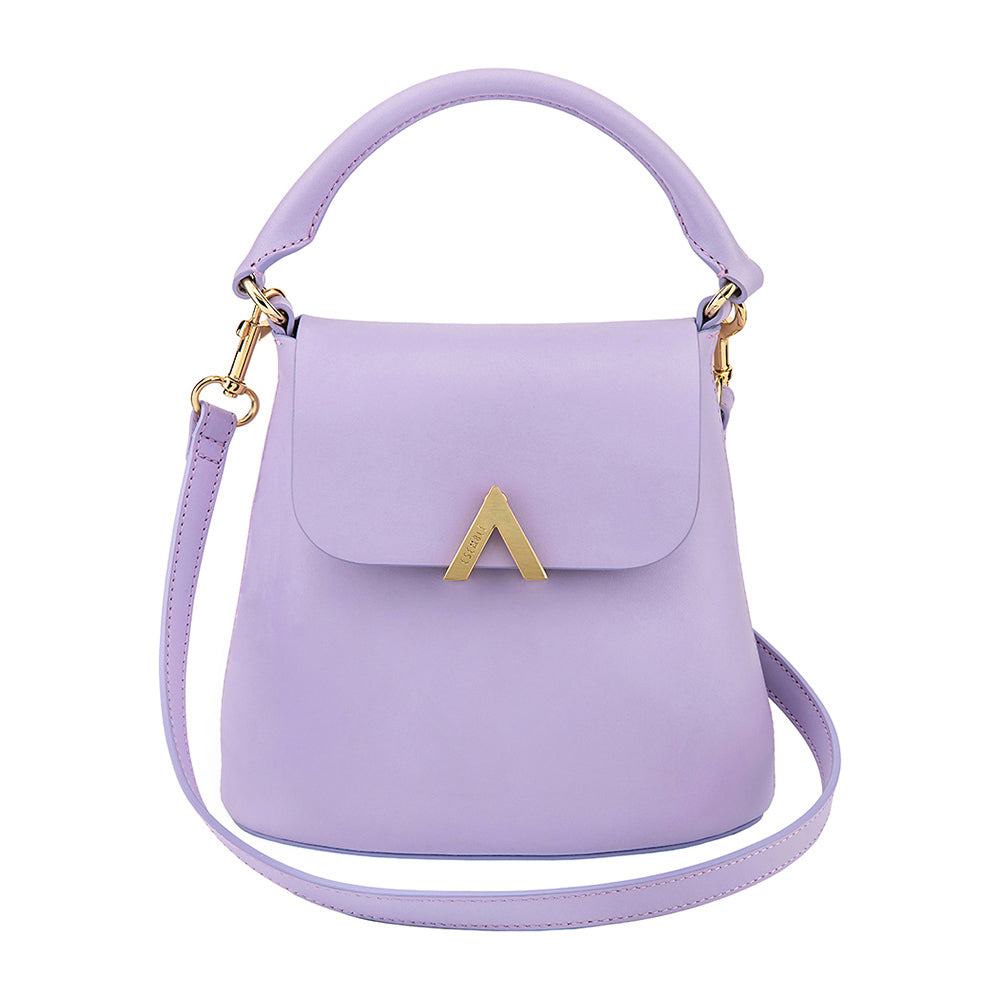 Bell Shoulder Bag - Heather