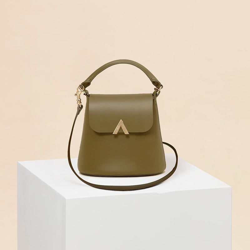 Bell Shoulder Bag - Olive