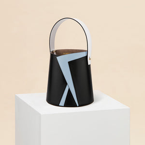 Serra Bucket Bag - Black/Fog