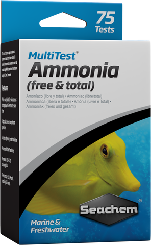 Seachem MultiTest™: Ammonia
