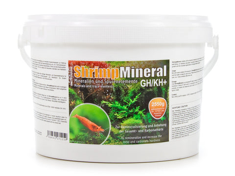 SaltyShrimp  Shrimp Mineral GH/KH+ - Breeder's Delight (Pre-Order Only) | 2550g