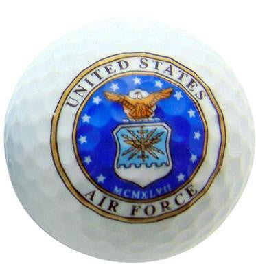 USA Air Force Novelty Golf Ball Perfect Fun Golfer Gift For A Golfing Dad
