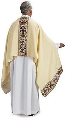 "MRT Coronation Tapestry Humeral Veil Priest Vesment 100"" x 25""L with Understole"