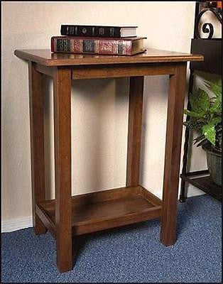"MRT Handcrafted Wood Credence Eucharist Table for Church Chapel 30"" Robert Smith"