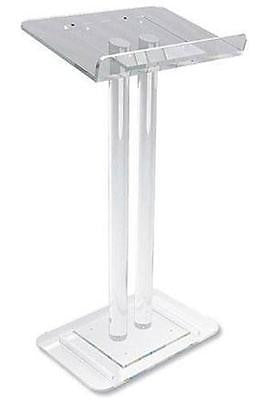 "MRT Two Column Design Acrylic Modern Lectern for Church Chapel Quality 45""H"