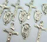 Crucifix Mary Child Rosary Center Piece and Cross Lot Of 10