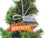 Mississippi Christmas Ornament Acrylic State Shaped Decoration Boxed Gift Made in The USA