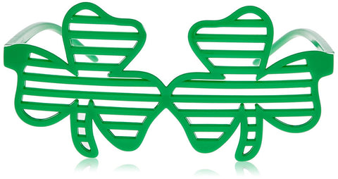 Shamrock Shutter Shades for St Patricks Day
