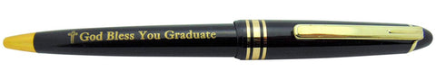 Bulk Pack of 25 God Bless You Graduate Pen Christian Graduation Gift Classroom