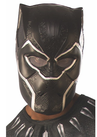 Rubie's Men's Black Panther 1/2 Adult Mask Adult Costume Official Marvel Merchandise