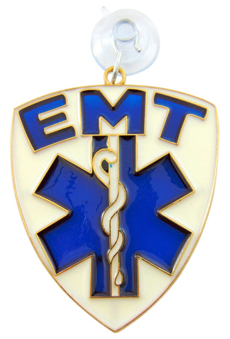 EMT Medical Sun Catcher for Emergency Medical Technician Window Ornament Decoration