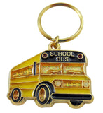 School Bus Key Chain Driver Appreciation Key Ring Gift