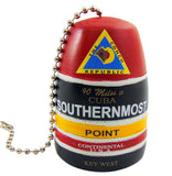 Southernmost Point Fan Pull Key West Florida Souvenir Gift, 2 Inch
