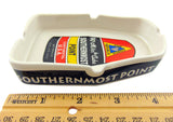 Southernmost Point Ash Tray Cermaic Florida Keys Souvenir Gift