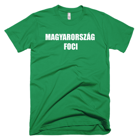 Hungary Football Soccer Short Sleeve T-Shirt