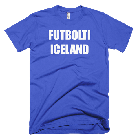 Iceland Football Soccer Short Sleeve T-Shirt