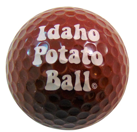 Idaho Potato Ball Novelty Golf Ball Golfing Gag Gift