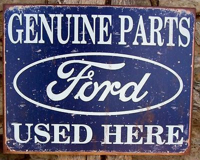 Old Style Ford Tin Sign Ad Retro Bar Garage Home Decor Car Auto Mechanic Gift