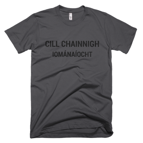 Kilkenny Hurling Short Sleeve Asphalt T-Shirt