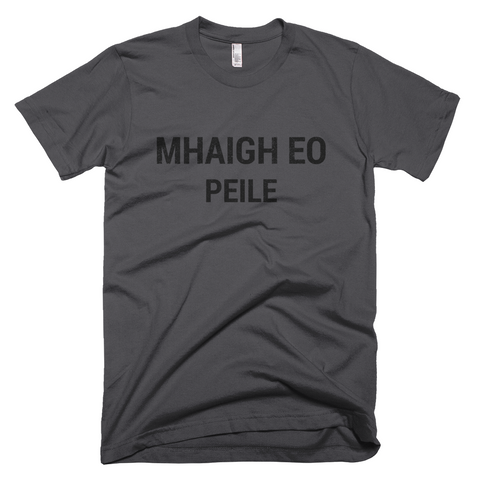 Mayo Gaelic Football Short Sleeve Asphalt T-Shirt