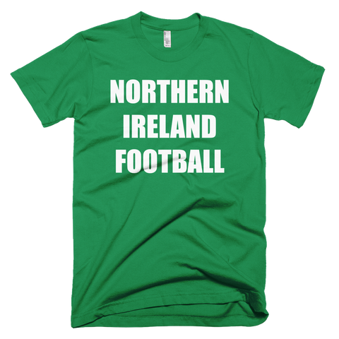 Northern Ireland Football Soccer Short Sleeve T-Shirt
