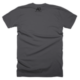 310 LA Area Code Short Sleeve Asphalt T-Shirt
