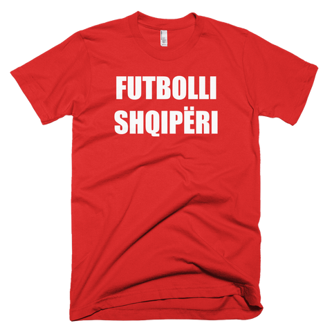 Albania Football Soccer Short Sleeve T-Shirt