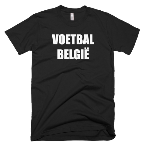 Belgian Football Soccer Short Sleeve T-Shirt