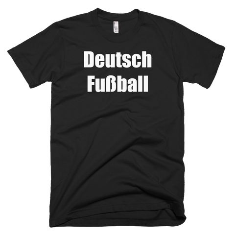 German Football Soccer Short Sleeve T-Shirt