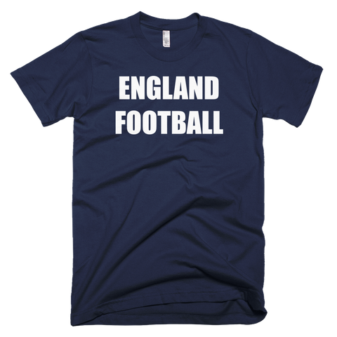 England Football Soccer Short Sleeve T-Shirt