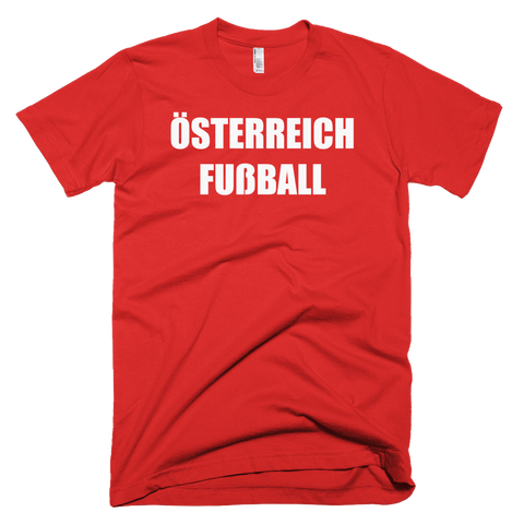 Austria Football Soccer Short Sleeve T-Shirt