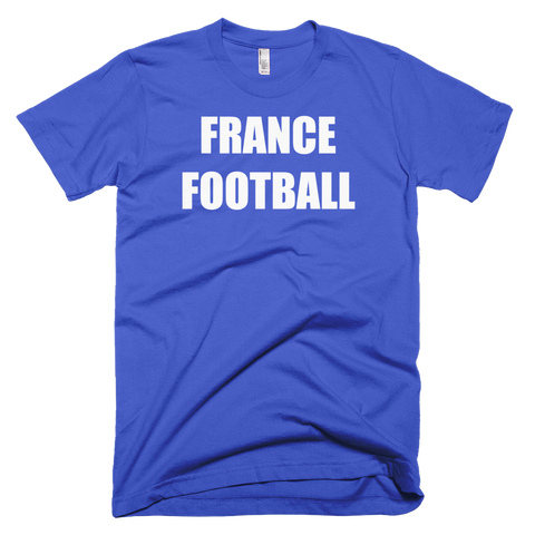 France Football Soccer Short Sleeve T-Shirt