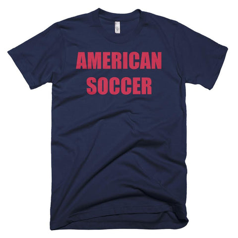 American Soccer Football Soccer Short Sleeve T-Shirt