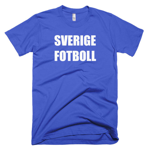 Sweden Football Soccer Short Sleeve T-Shirt