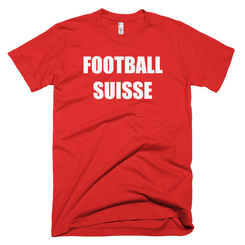 Switzerland Football Soccer Short Sleeve T-Shirt