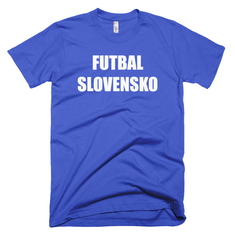 Slovakia Football Soccer Short Sleeve T-Shirt