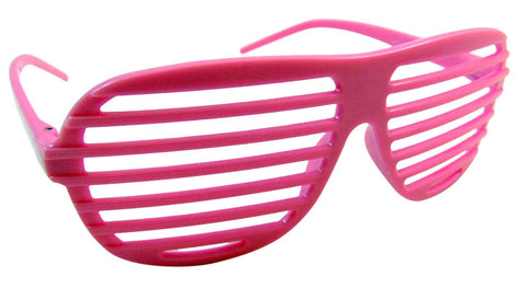 Pink Shutter Shades Glasses Celebrity Style Eyewear