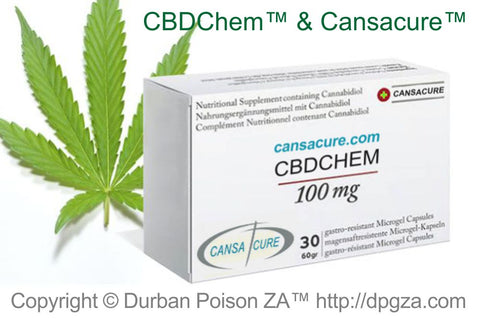 CBDChem™ and Cansacure™ are Durban Poison ZA™ Group Brands.