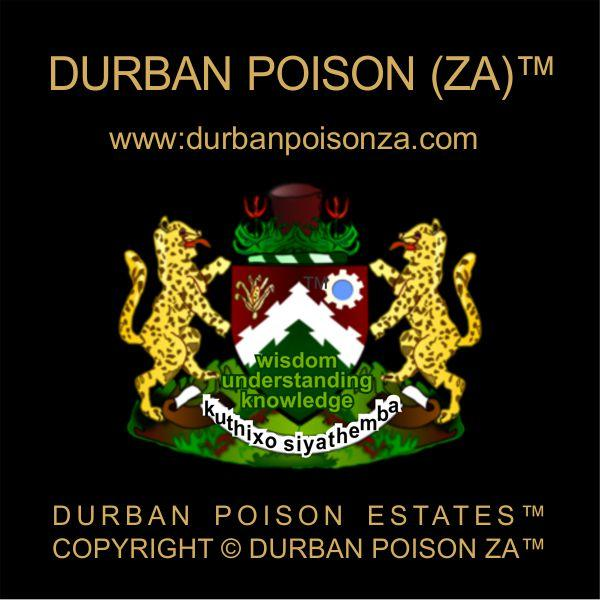 The (Official) Durban Poison ZA® website: http://www.durbanpoison.org or http://www.durbanpoisonza.com