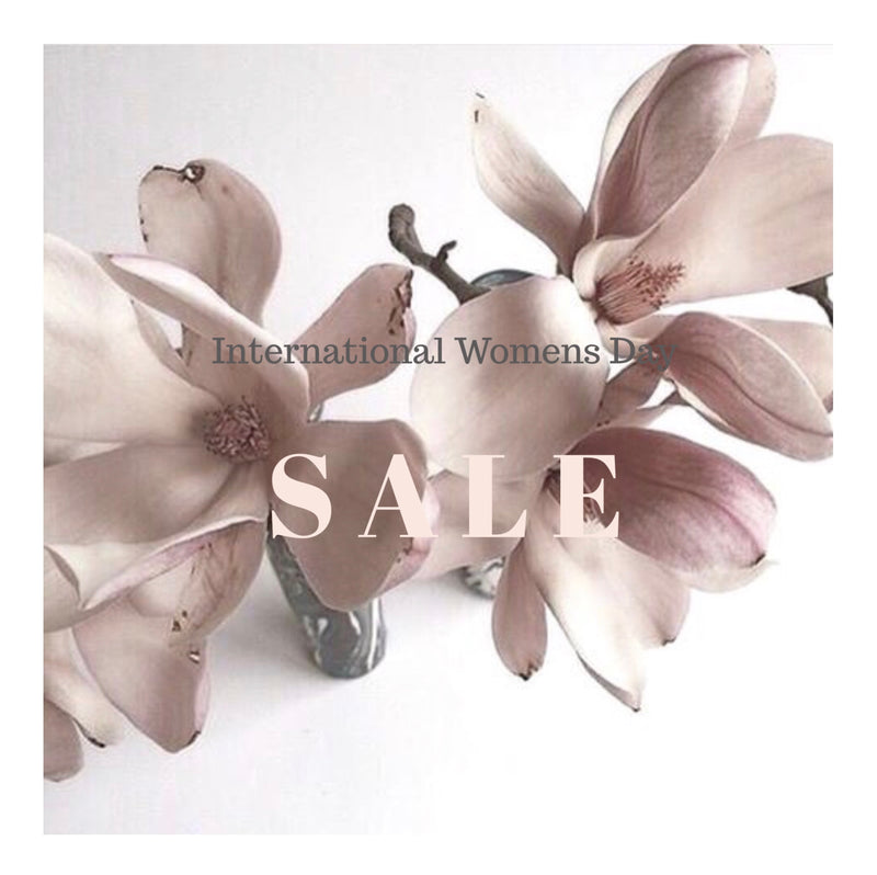 INTERNATIONAL WOMENS DAY SALE