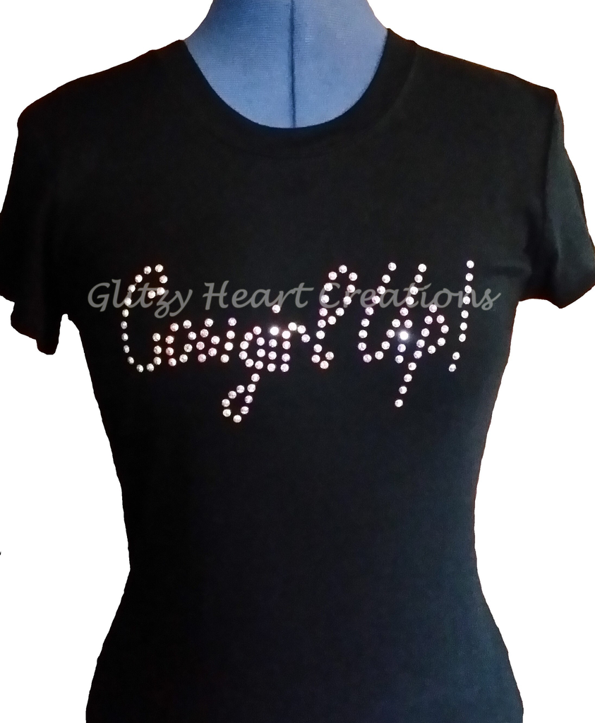 Cowgirl Up Rhinestone T-Shirt
